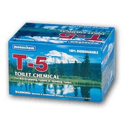12 pk T-5 Toilet Chemical — #1 Best Seller for 55+ Years!