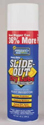 Slide-Out Dry Lube