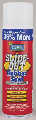 Slide-Out Rubber Seal Treatment