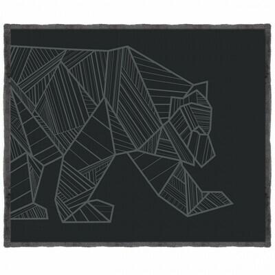 Kuma Bear Sherpa Throw Blanket