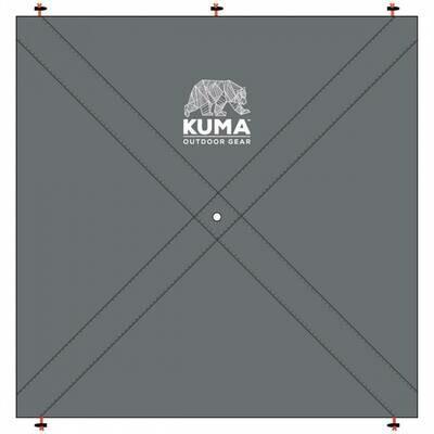 Kuma Bear Den Gazebo - Privacy Panel