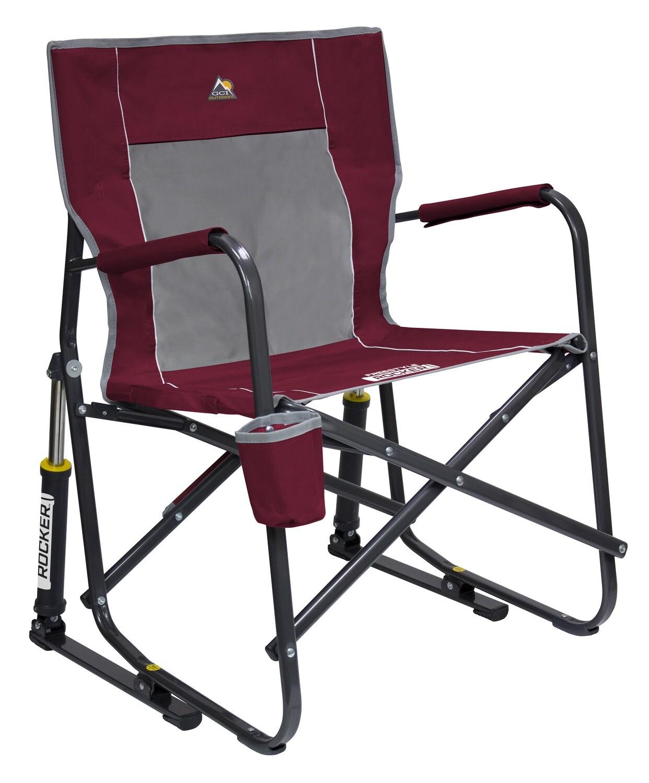 GCI Outdoor -Cinnamon- Freestyle Rocker Portable Folding Rocking Chair
