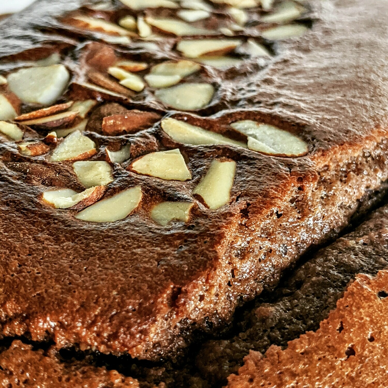 Keto Pound Cake Choco-Avellana