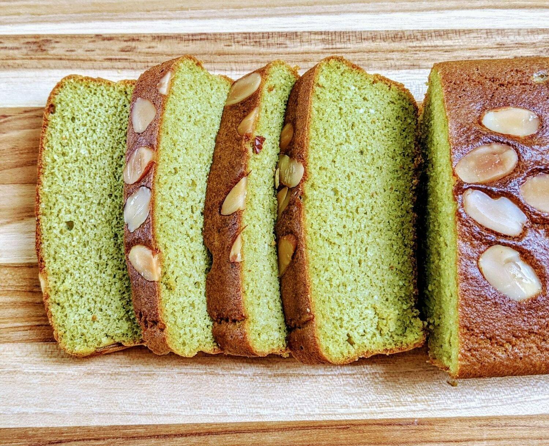 Matcha Keto Pound Cake
