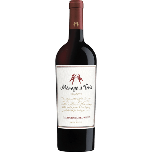 Menage a Trois CA Red  Blends 750
