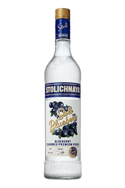 "Stoli ""Blueberry"" Vodka 1L"
