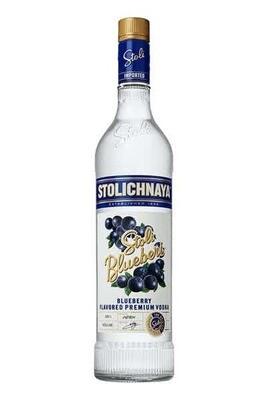 """Stoli """"Blueberry"""" Vodka 1L"""