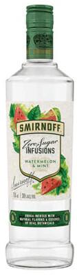 Smirnoff Zero Sugar Watermelon Mint Vodka 750ml