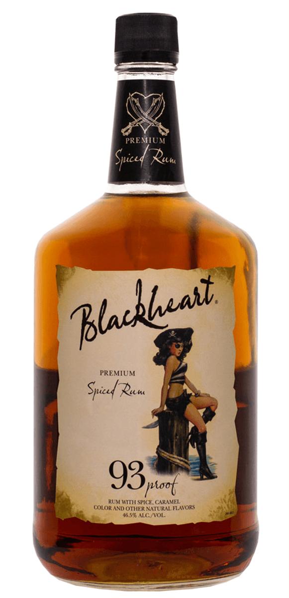 Blackheart Spiced Rum 1.75L