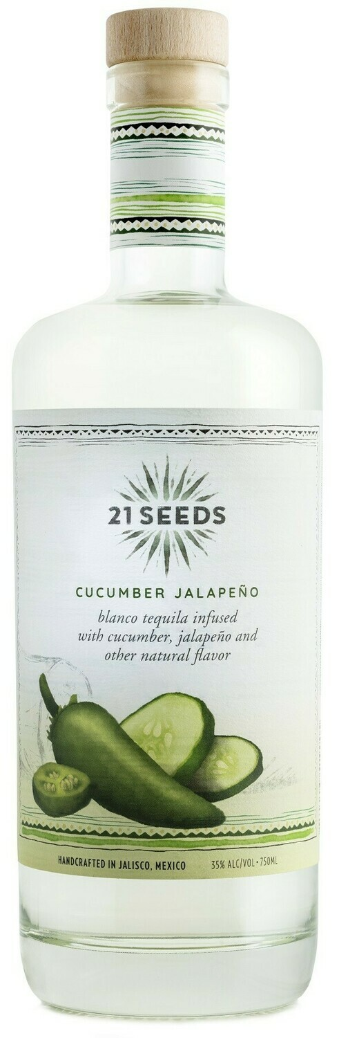 21 Seeds Cucumber/Jalapeno Tequila 750ml