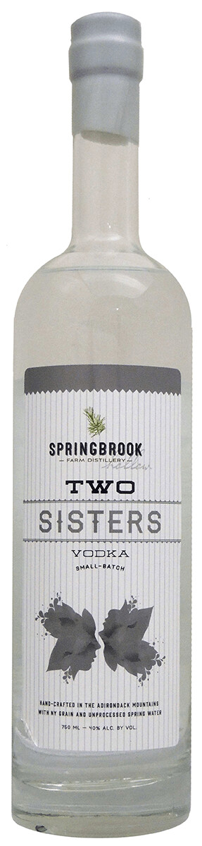 Springbrook Hollow Two Sisters Vodka 750ml