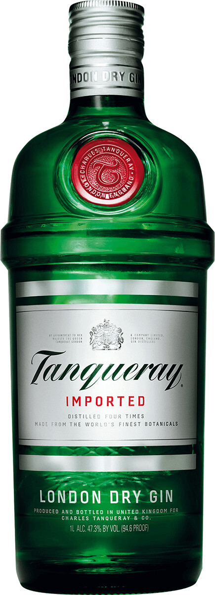 Tanqueray London Dry Gin 1.0L