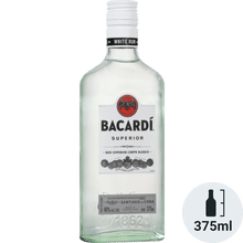 Bacardi White Rum 375ml