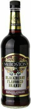 Mr. Boston Blackberry  Brandy 1.0L