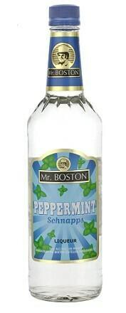 Mr. Boston Peppermint Schnapps 1.0L