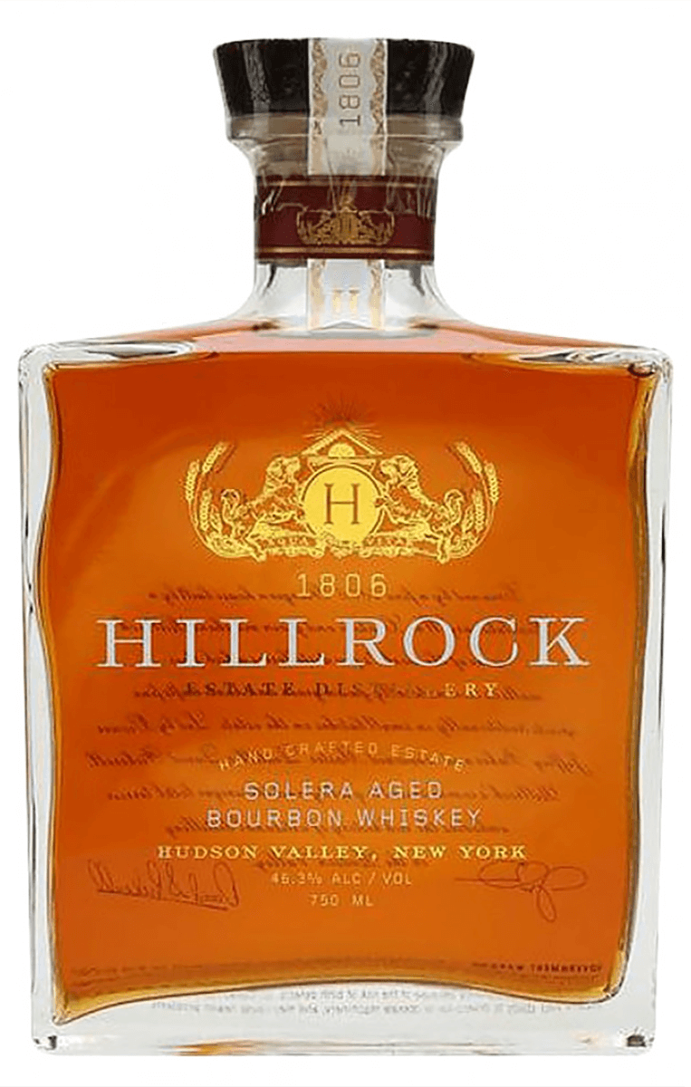 Hillrock Estate Solera Aged Bourbon Whisky 750ml