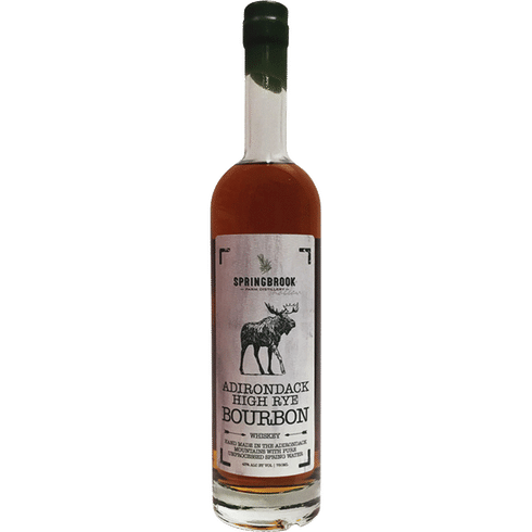 Springbrook Hollow Adirondack High Rye Bourbon 750ml