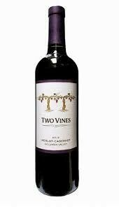 Two Vines Merlot 750ml