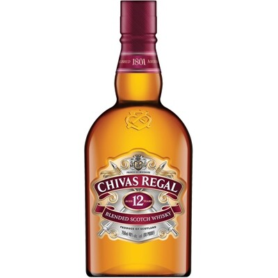 Chivas Regal 12 Year Scotch 750ml