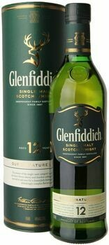 Glenfiddich 12 Year Single Malt Scotch Whisky 750ml