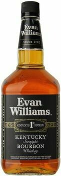 Evan Williams Black Label Bourbon 1.75L