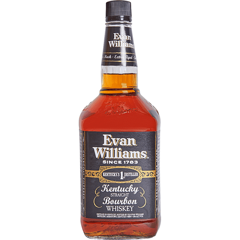 Evan Williams Black Label Bourbon 1L