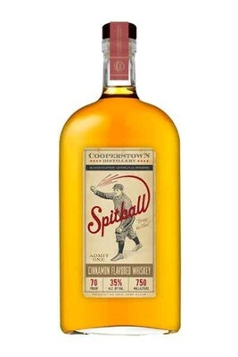 Cooperstown Spitball Cinnamon Whiskey 750ml