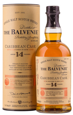 The Balvenie Caribbean Cask 14yr Scotch Whisky 750ml