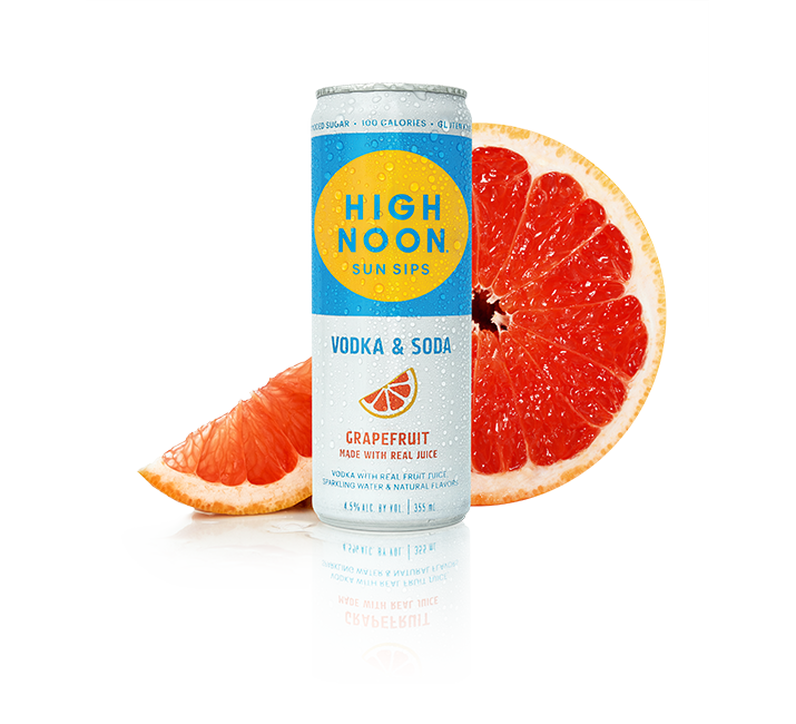 High Noon Grapefruit 355ml Can