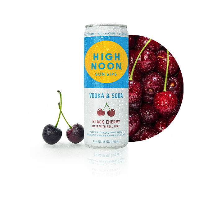 High Noon Black Cherry 355ml Can