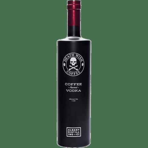 Albany Distilling Co. Death Wish Coffee Vodka 1L