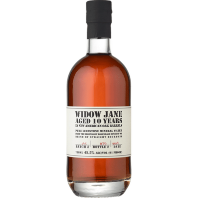 Widow Jane 10 Year Straight Bourbon Whiskey 750ml