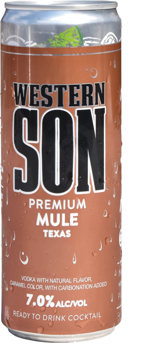Western Son Vodka Mule 4/355ml Cans