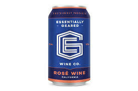 Essentially Geared Wine Co. Rosé 375ml Can