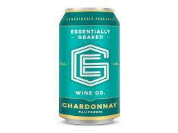 Essentially Geared Wine Co. Chardonnay 375ml Can