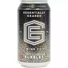 "Essentially Geared Wine Co. ""Bubbles"" 375ml Can"
