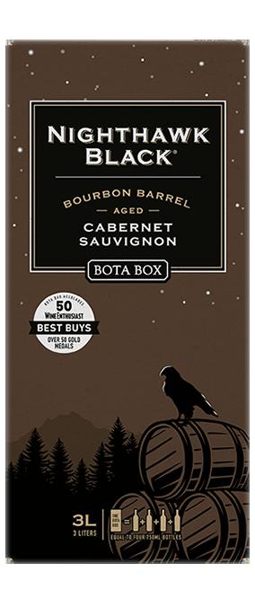 Bota Box Nighthawk Black Bourbon Barrel Cabernet Sauvignon 3L