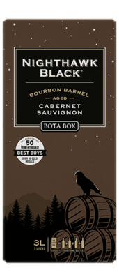 Bota Box Nighthawk Black Bourbon Barrel Cabernet Sauvignon 3L