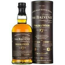The Balvenie DoubleWood 17 Year Old Single Malt Scotch Whisky 750ml