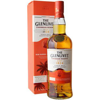 Glenlivet Caribbean Reserve Single Malt Scotch Whisky 750ml