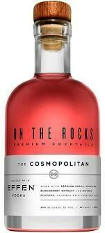 On The Rocks 'Effen Vodka' The Cosmopolitan 375ml