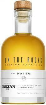 On The Rocks 'Cruzan' The Mai Tai Cocktail 375ml
