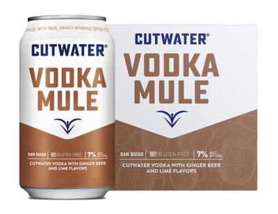 Cutwater Spirits Vodka Mule Can 4/355ml Cans