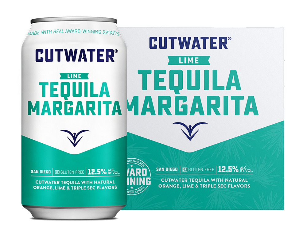 Cutwater Spirits Lime Tequila Margarita 4/355ml Cans
