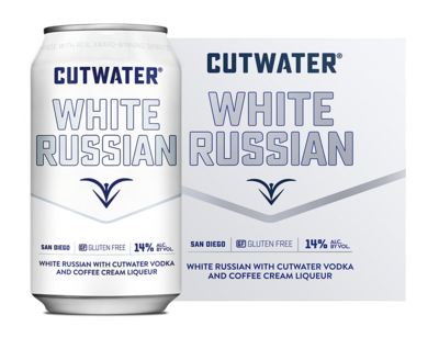 Cutwater Spirits White Russian 4/355ml Cans