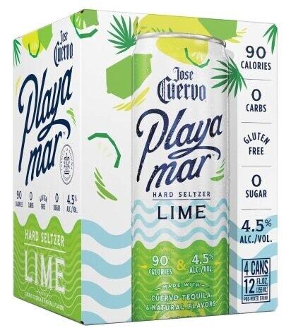 Jose Cuervo Playa-mar Lime 4/355ml Cans