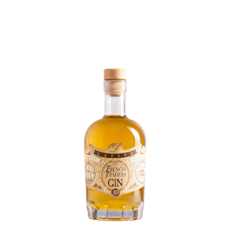 Cooperstown Distillery Lafite Gin French Traders 375ml