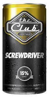 Club Screwdriver 200ml Can