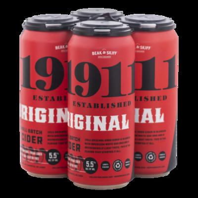 1911 Cider Original Hard Cider 4/16oz Cans