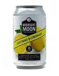 Midnight Moon Lightening Lemonade Moonshine 4/355ml Cans